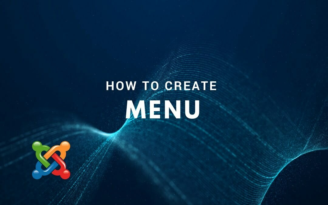 How to Create Menu
