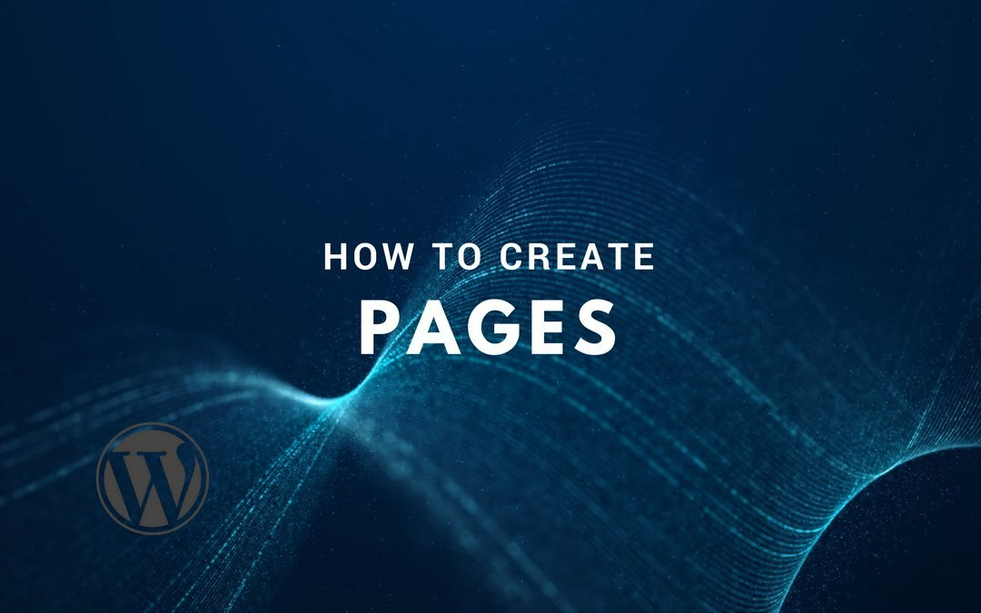 How to Create Pages