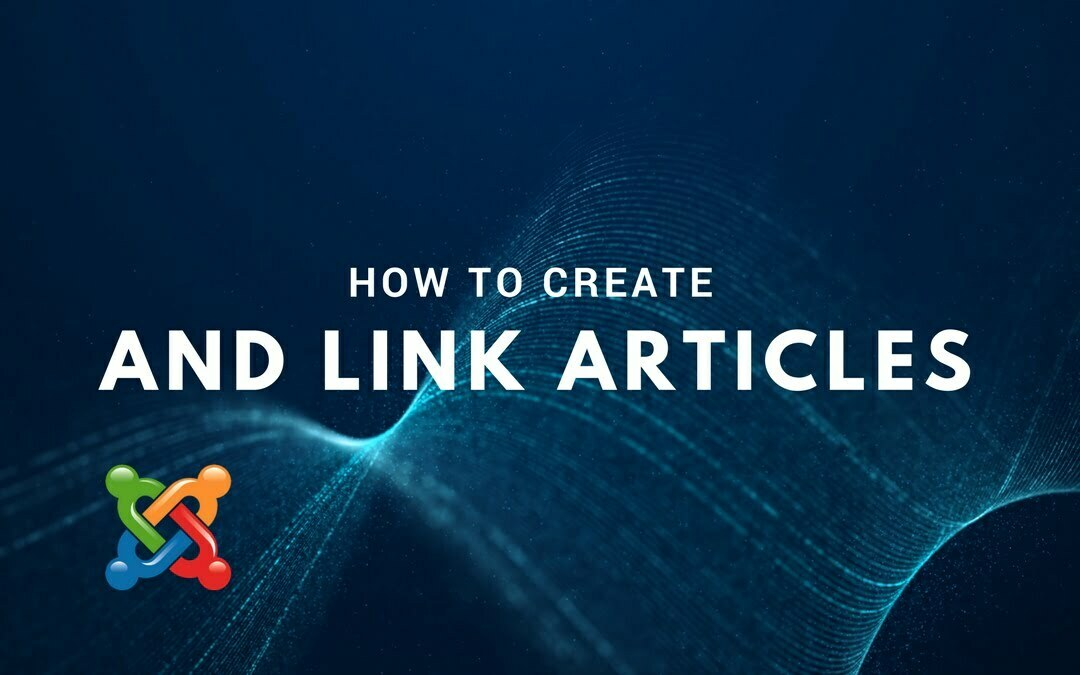 How to Create and Link Articles