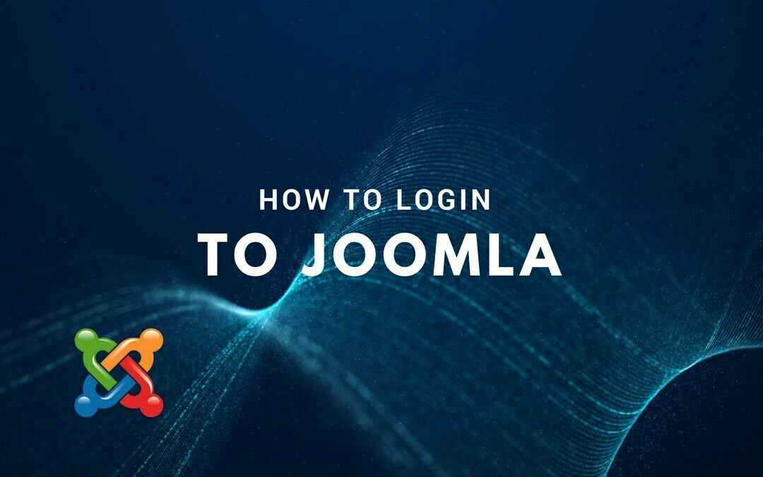 How to Login to Joomla